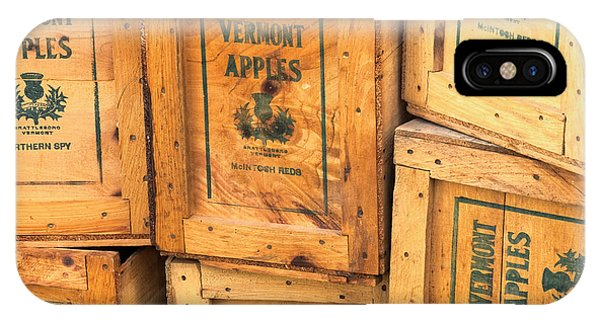 Scott Farm Apple Boxes IPhone Case