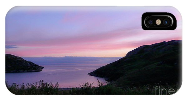 Northern Scotland iPhone Case - Scottish Bay by DiFigiano Photography