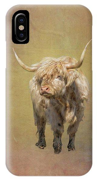 Scottish Highlander IPhone Case