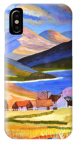 Scottish Highlands 2 IPhone Case