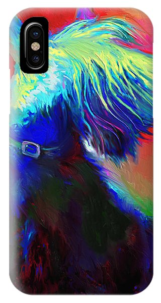 Scottish Terrier Dog Painting IPhone Case
