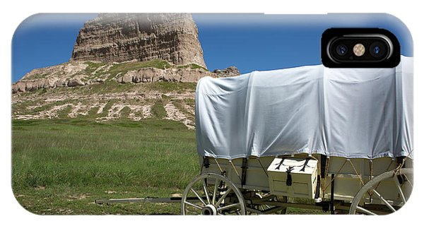 IPhone Case featuring the photograph Scotts Bluff National Monument Nebraska by Steven Frame