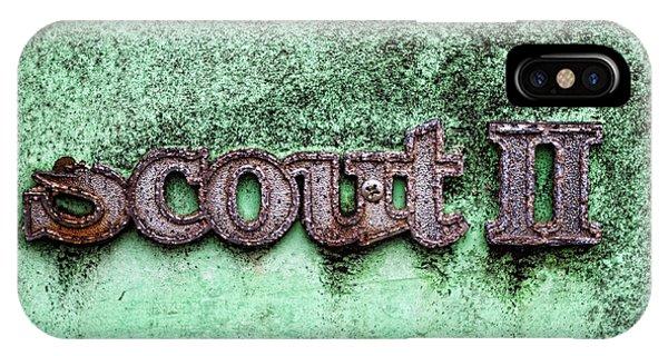Scout II IPhone Case