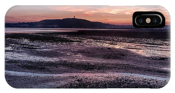 Scrabo Above Strangford Lough IPhone Case
