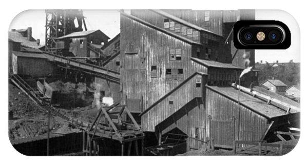 Scranton Pennsylvania Coal Mining - C 1905 IPhone Case