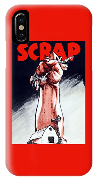 Political iPhone Case - Scrap - Ww2 Propaganda by War Is Hell Store