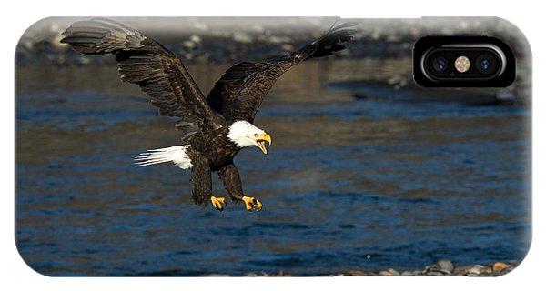 Screaming Eagle II IPhone Case