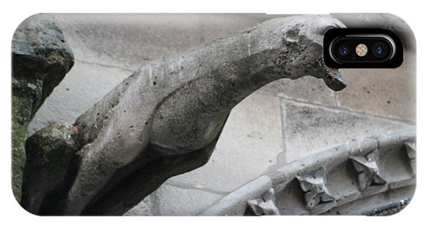 Screaming Griffon Notre Dame Paris IPhone Case