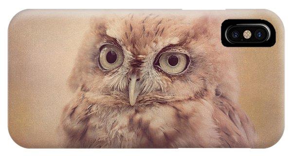 Screech Owl 4 IPhone Case