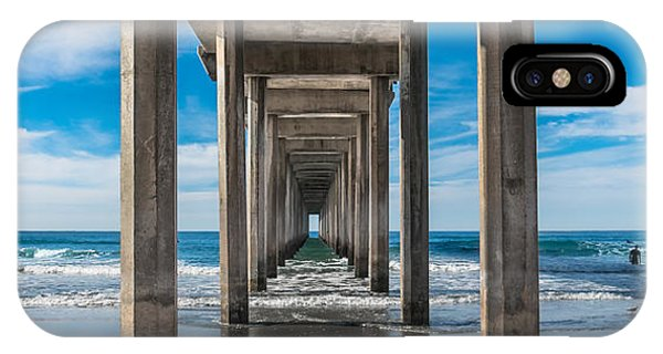 Scripps Pier La Jolla California IPhone Case