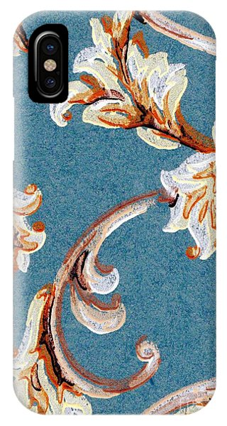 Scrolled Whimsy IPhone Case