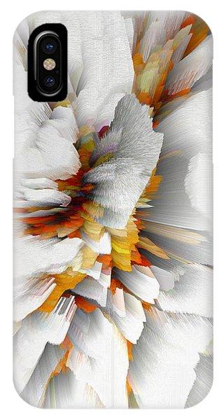 IPhone Case featuring the digital art Sculptural Series Digital Painting 22.120210 by Kris Haas