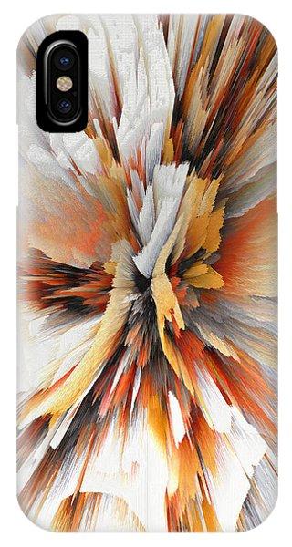 IPhone Case featuring the digital art Sculptural Series Digital Painting 22.120210eext290lsqx2 by Kris Haas