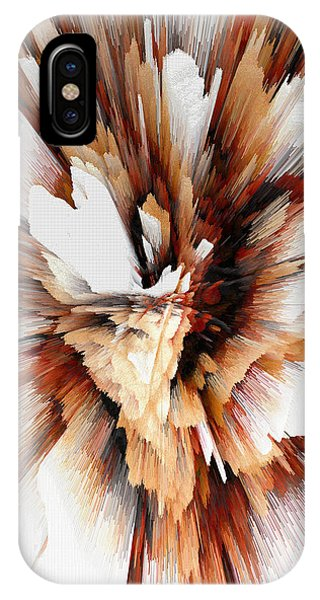 IPhone Case featuring the digital art Sculptural Series Digital Painting 23.120210ext5100l by Kris Haas