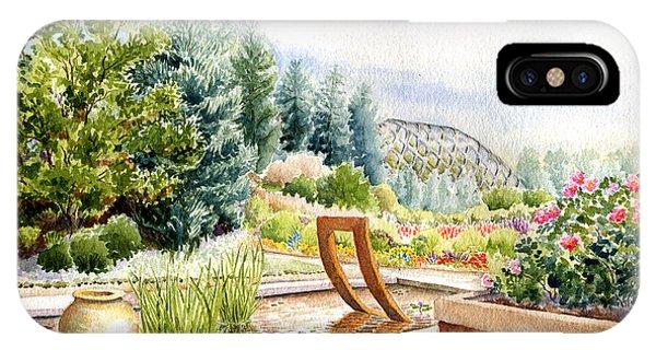 Sculpture Pool At Denver Botanic Gardens IPhone Case
