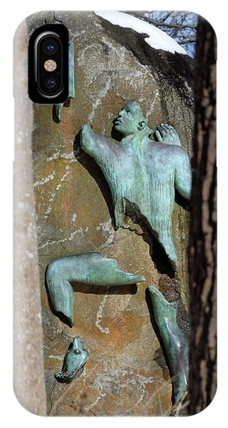 Sculpture Stony Brook New York IPhone Case