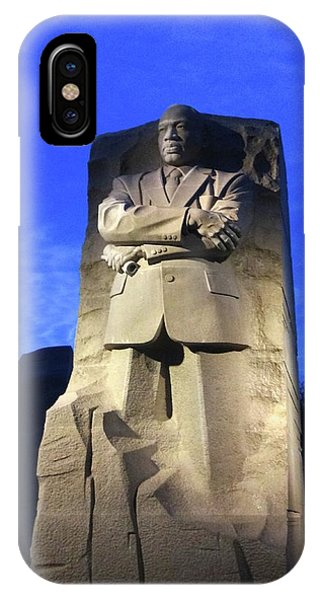 Sculptured Profile Martin Luther King Jr. IPhone Case