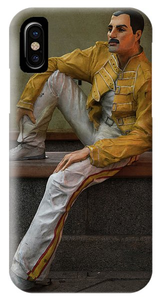 Sculptures Of Sankt Petersburg - Freddie Mercury IPhone Case