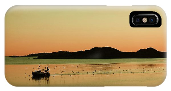 Sea After Sunset IPhone Case