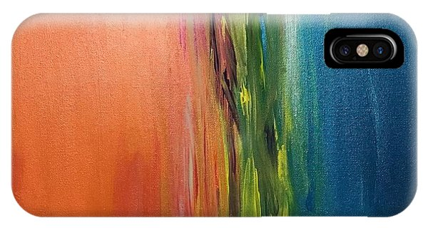 Sea And Sky Metallic IPhone Case