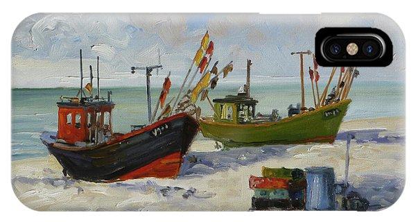 Sea Beach 3 - Baltic IPhone Case