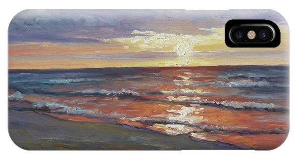 Sea Beach 8 - Baltic Sunset IPhone Case