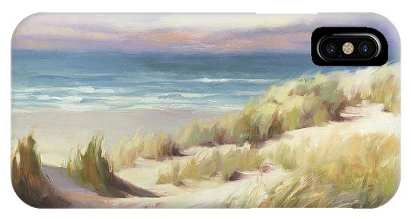 Grass iPhone Case - Sea Breeze by Steve Henderson