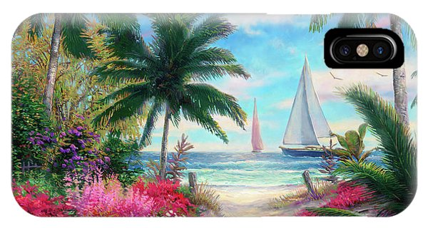 Sand iPhone Case - Sea Breeze Trail by Chuck Pinson