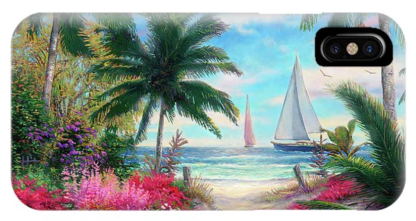 Beautiful iPhone Case - Sea Breeze Trail by Chuck Pinson
