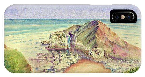 Sea Cliff IPhone Case