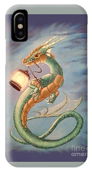 Sea Dragon And Lantern IPhone Case