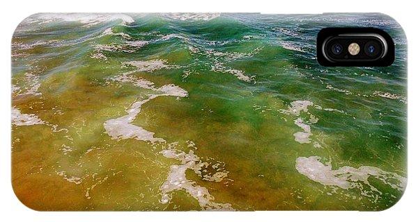 Sea Foam 3 IPhone Case