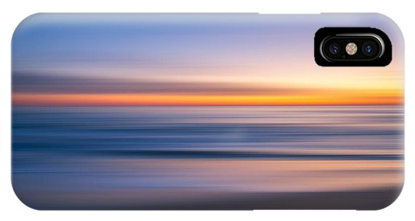 Sea Girt New Jersey Abstract Seascape Sunrise IPhone Case