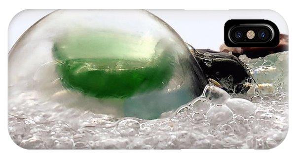 Sea Glass In A Bubble IPhone Case