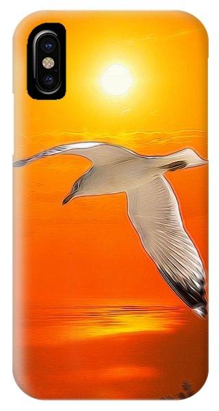Sea Gull IPhone Case