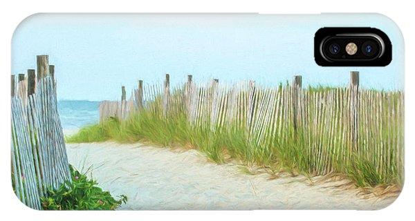 Sea Gull Beach #1 IPhone Case