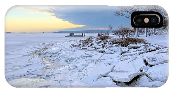 Sea Ice Chunks IPhone Case