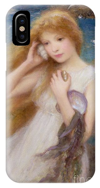 Seagull iPhone Case - Sea Nymph by William Robert Symonds