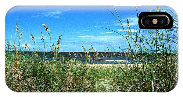 Sea Oat Dunes 11d IPhone Case