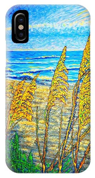Sea Oat,dual #1 IPhone Case