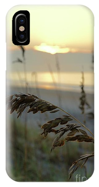 iPhone Case - Sea Oats At Sunrise by Megan Cohen