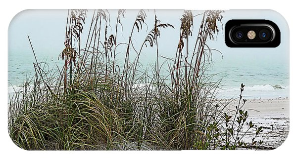 Sea Oats In Light Fog IPhone Case
