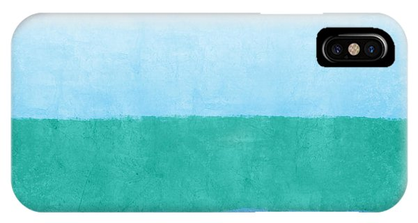 Teal iPhone Case - Sea Of Blues by Linda Woods