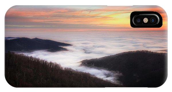 IPhone Case featuring the photograph Sea Of Clouds by Ryan Wyckoff