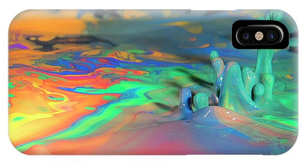 Sea Of Paint IPhone Case