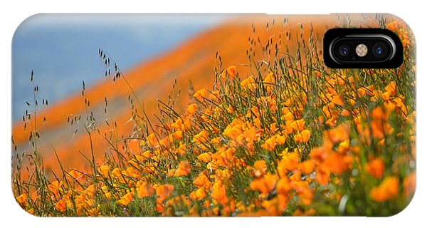 Sea Of Poppies IPhone Case