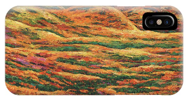 Foliage iPhone Case - Sea Of Tranquility by Johnathan Harris
