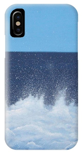 Tidal Waves iPhone Case - Sea Picture V by Alan Byrne