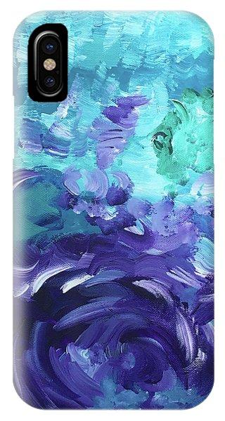 Sea Purple IPhone Case