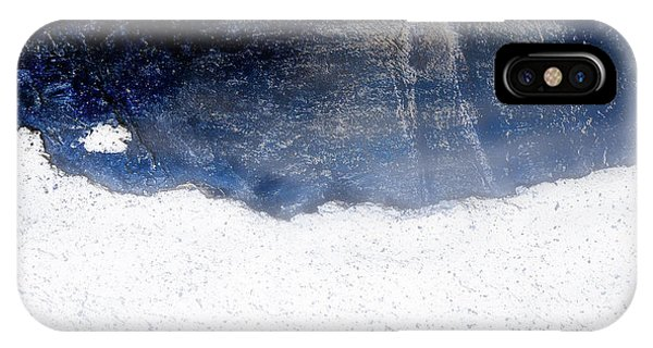 Sea, Satellite - Coast Line On Blue Ocean Illusion IPhone Case